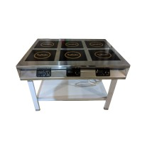 Плита индукционная InCooker 6 конфорок (островная)