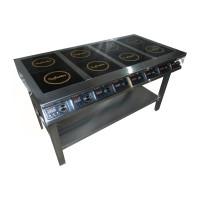 Плита индукционная InCooker 8 конфорок 750мм