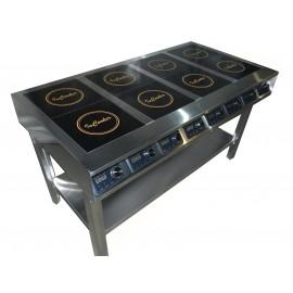 Плита индукционная InCooker 8 конфорок